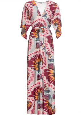 Макси-платье с текстильным поясом