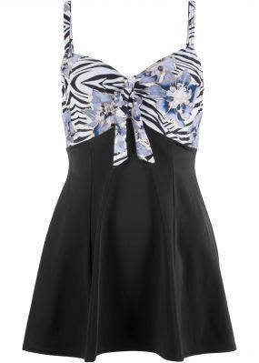 Платье купальное с бюстгальтером на косточках
