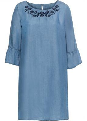 Платье из тенцеля