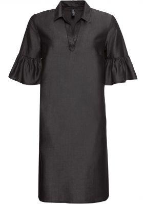 Платье в стиле деним