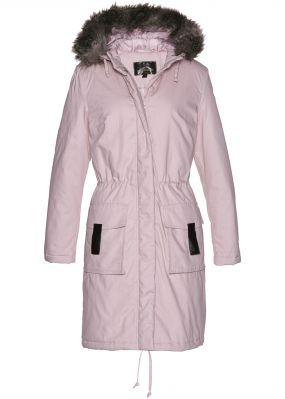Модная длинная куртка-парка