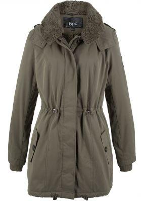 Зимняя куртка с мягким воротником