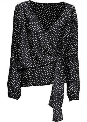 Блузка с эффектом запаха
