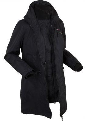 Куртка дизайна 2 в 1 с капюшоном