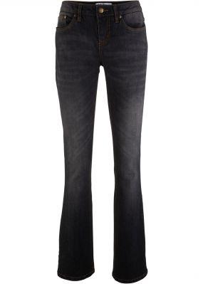 Расклешенные джинсы-стретч