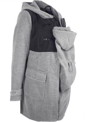 Дафлкот с карманом-вставкой для малыша