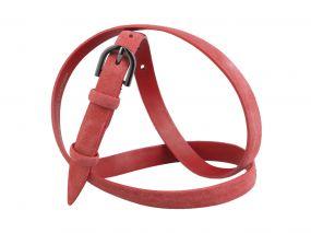 Кожаный ремень Z15-09 (розовый)