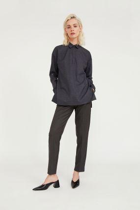 классические прямые женские брюки со стрелками