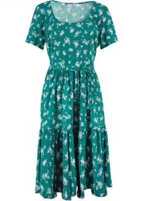 Платье c коротким рукавом