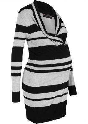 Платье вязаное для будущих и кормящих мам
