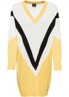 Платье вязаное в стиле оверсайз