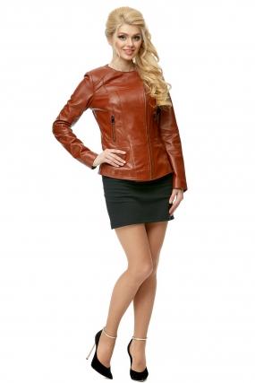 Женская кожаная куртка из натуральной кожи