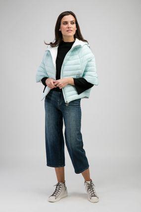 Куртка на синтепоне с рукавом 3/4 «летучая мышь»
