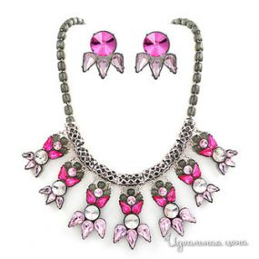 Комплект украшений Grain de Beaut?, цвет розовый