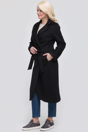 Классическое шерстяное пальто на осень