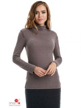 Водолазка Lala Style, цвет серый