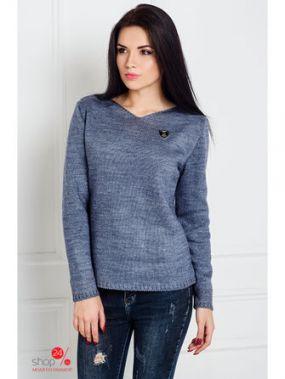 Пуловер LARIONOFF, цвет синий
