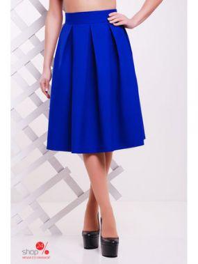 Юбка MarSe, цвет ярко-синий