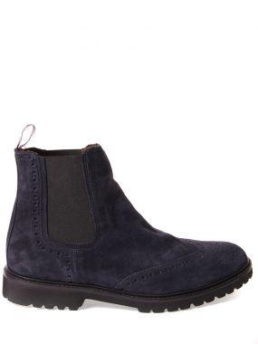 Замшевые ботинки-челси