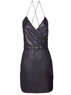 Шерстяное платье-мини