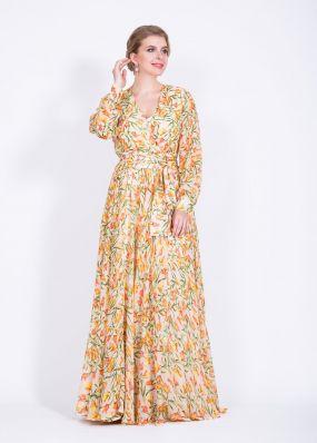 Шифоновое нарядное платье MN007B