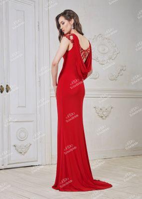 Вечернее платье с вырезом на спине CH0023BY1