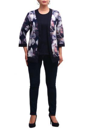 Комплект: кардиган, блузка OLSI