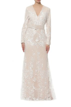 Платье Badgley Mischka
