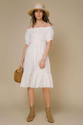 Платье 101936 White