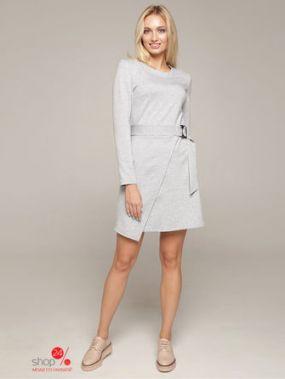 Платье Lavana Fashion, цвет светло-серый