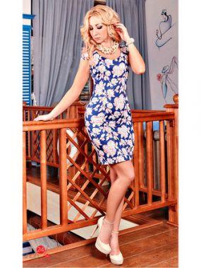Платье Adeleys-original, цвет розовый, синий