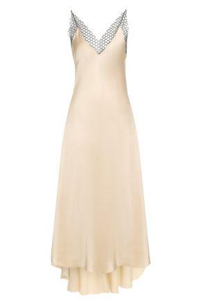 Шелковое платье асимметричного кроя Walk of Shame