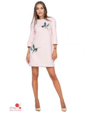 Платье 0101, цвет розовый