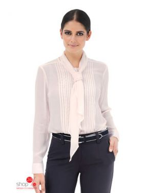 Блузка Amy Vermont Klingel, цвет кремово-розовый
