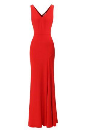 Приталенное платье-макси Alexander McQueen