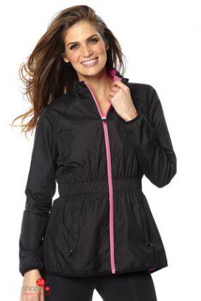 Спортивная куртка Halens, цвет черный, розовый неон