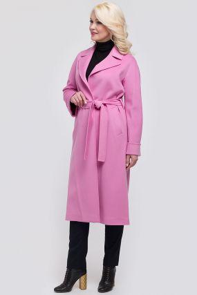 Длинное пальто-халат для весны из Италии