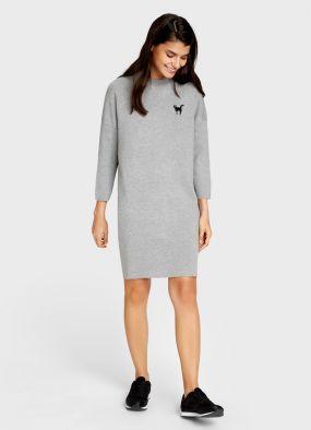 Структурное платье-кокон