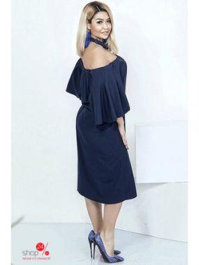Платье Irina Foksy, цвет синий