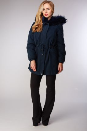 Зимняя куртка парка Rolf Schulte синего цвета