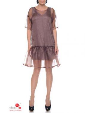 Платье Dominica Klein, цвет коричневый