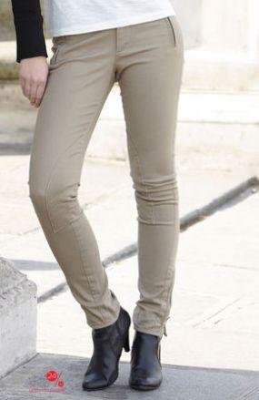 Узкие брюки, длина 72 см Halens, цвет бежевый