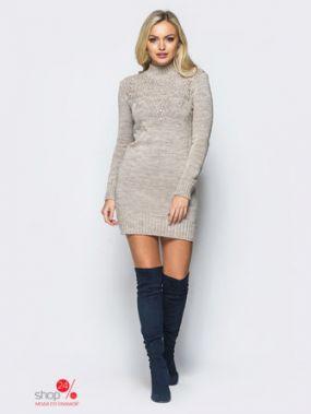 Платье LARIONOFF, цвет бежевый