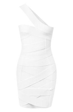 Приталенное платье Balmain