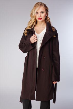 Женское пальто на осень из шерсти
