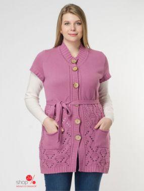 Жилет Milana Style, цвет розовый