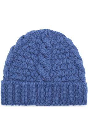 Кашемировая шапка Anuuk фактурной вязки Loro Piana