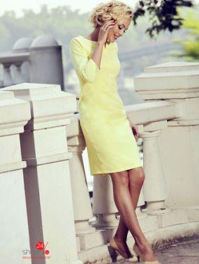 Платье Lesya, цвет желтый