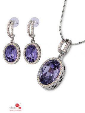 Комплект Ice & High, цвет серебряный, фиолетовый