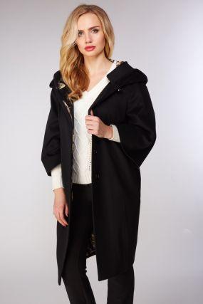 Итальянсское женское шерстяное пальто на осень